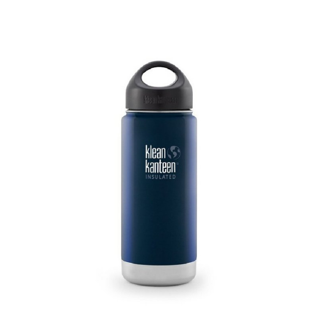 Klean Kanteen - Vacuum Insulated Wide 16oz Water Bottle with Loop