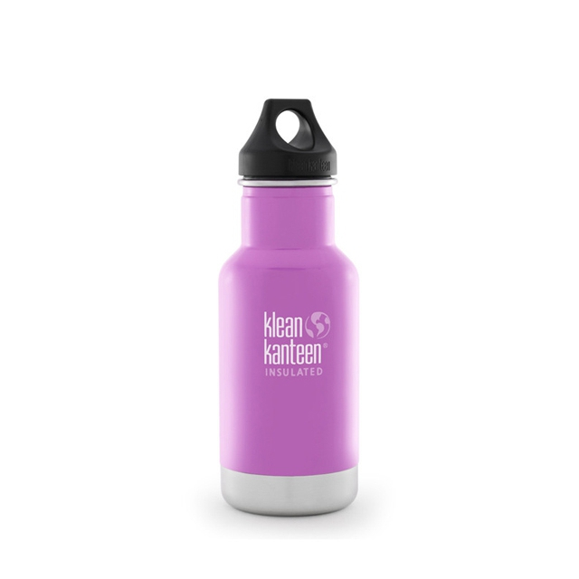 Klean Kanteen - - 12oz Classic Vacuum Insulated w Loop Cap