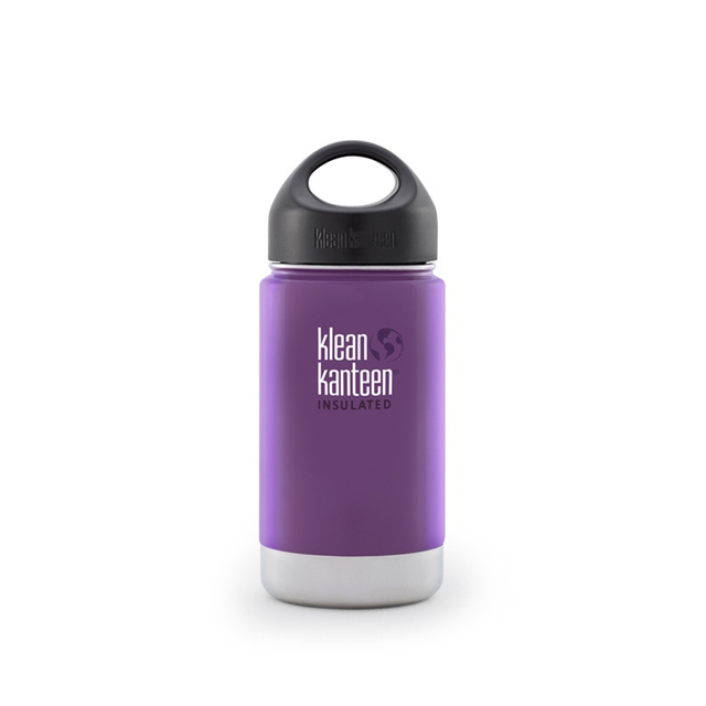 Klean Kanteen - - 12oz Kanteen Wide Insulated w/ Loop Cap