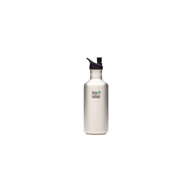 Klean Kanteen - Stainless Steel 40 oz. With Sport Cap Bottle BPA Free