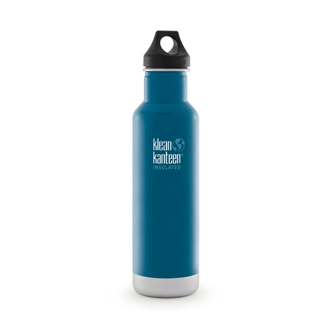 Klean Kanteen - - 20oz Classic Vacuum Insulated w/ Loop Ca