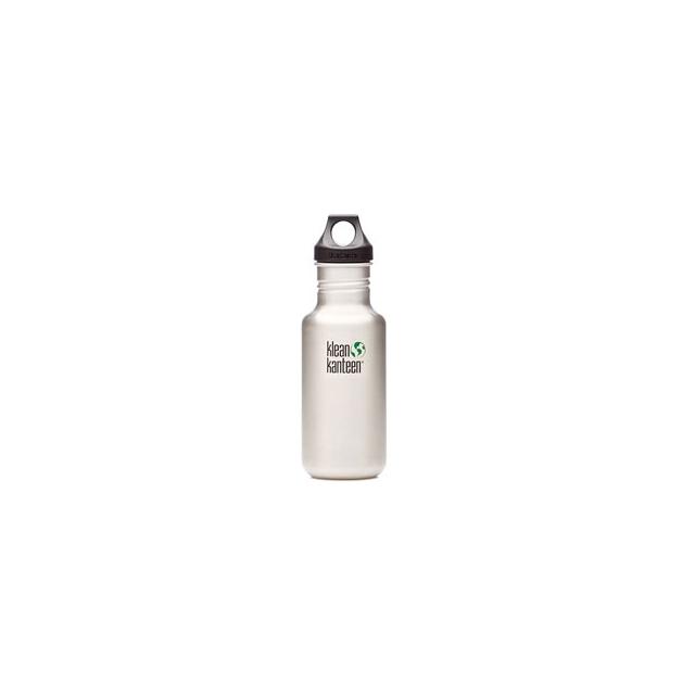 Klean Kanteen - Stainless Steel 18 oz. Loop Cap Bottle BPA Free - Silver
