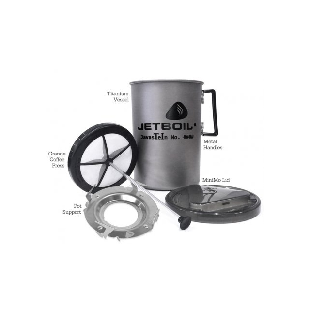 Jetboil - Javastein Titanium French Press - Limited Edition - Closeout