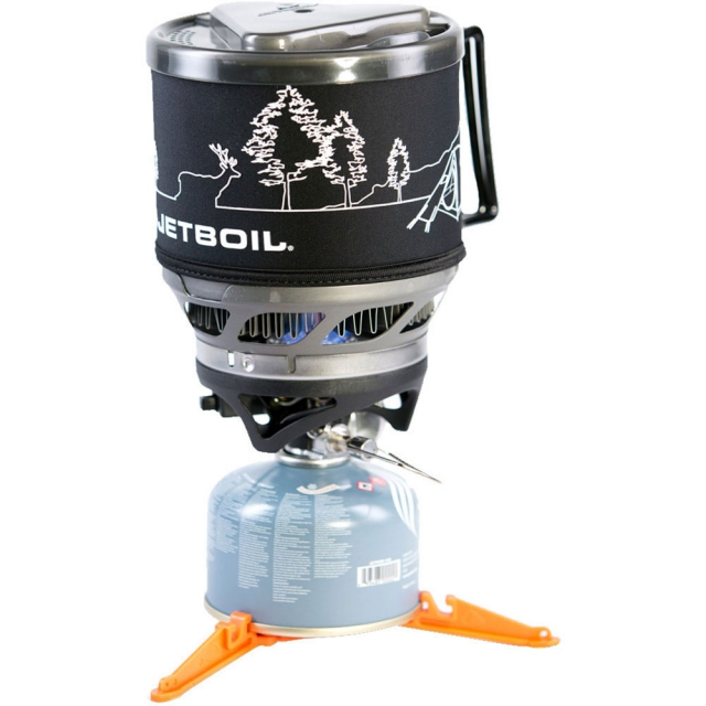 Jetboil - MiniMo Personal Cooking System - Carbon W/Line Art