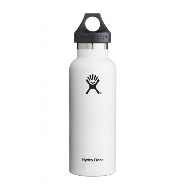 Hydro Flask - - 18 oz Standard Mouth - White