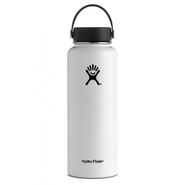 Hydro Flask - - 40 oz Wide Mouth - White