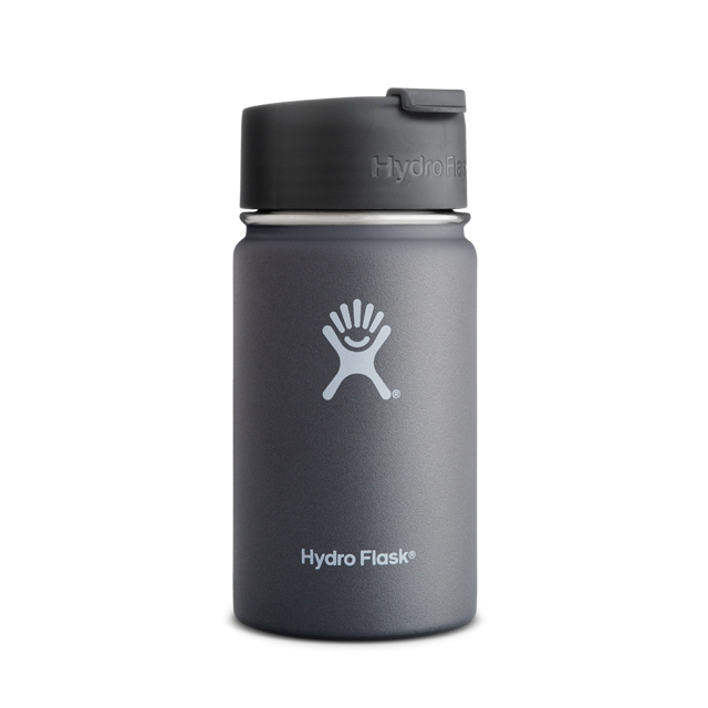 Hydro Flask - - 12oz Wide Mouth w/ Flip Lid
