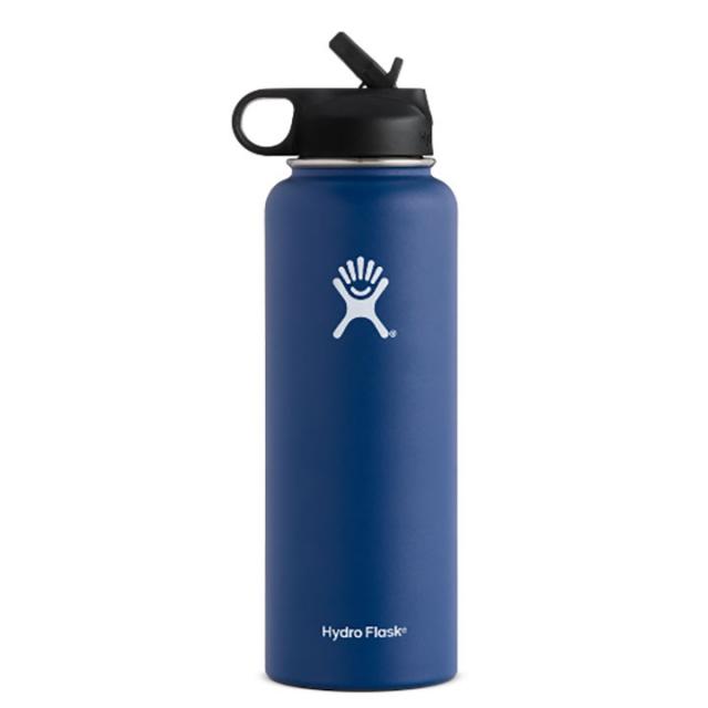 Hydro Flask - Hydroflask Wide Mouth 40oz w/ Straw Lid