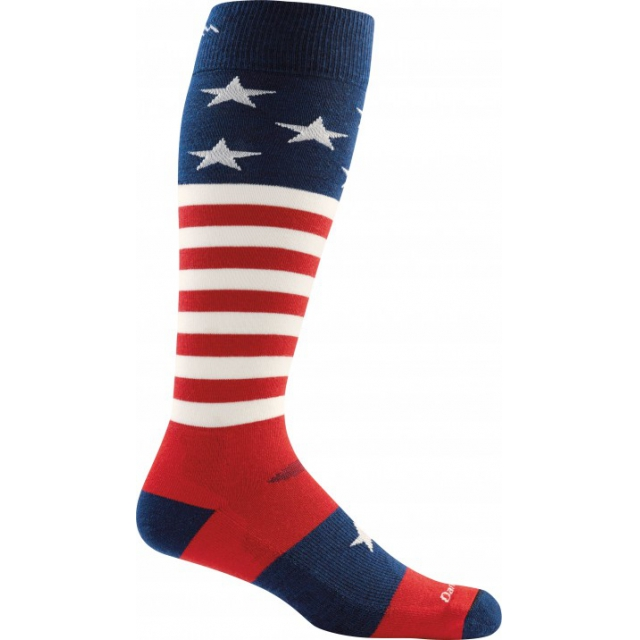 Darn Tough - Captian Stripe Over-the-Calf Light