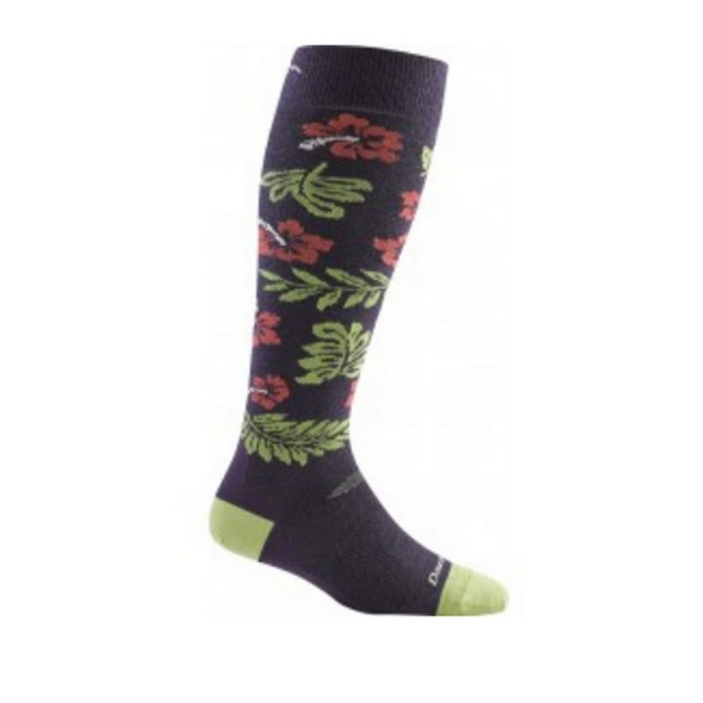 Darn Tough - Women's Hibiscus Over-the-Calf Cushion Socks