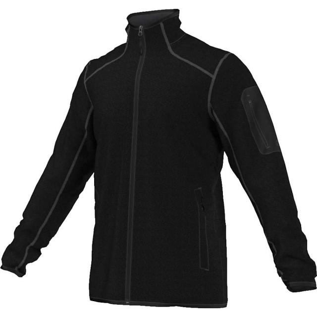 Adidas - Men's Hiking Melange Fleece Jacket