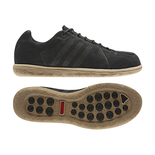 Adidas - Mens Zappan DLX - Sale Black/Base Khaki/Clear Sand 11