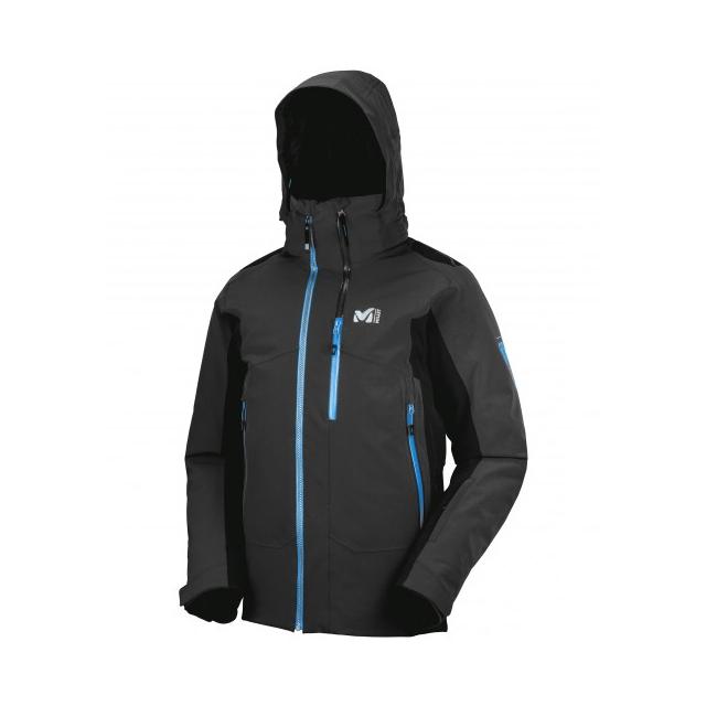 Millet - mens 7/24 stretch jacket black/ noir
