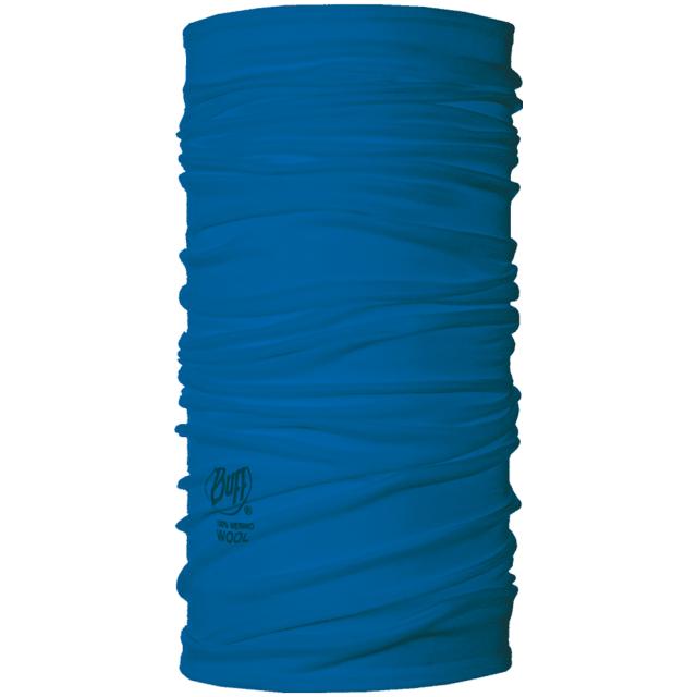 Buff - Merino Wool  French Blue