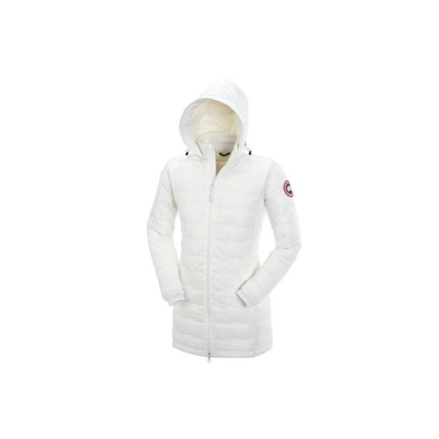 Canada Goose - Camp Hooded Jacket Womens (White)