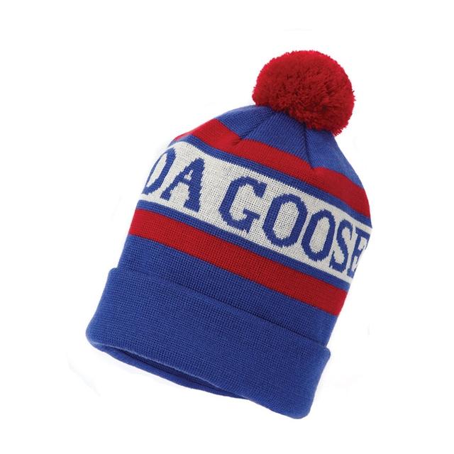 Canada Goose - Knit-In `CG Logo` Toque Pom Hat