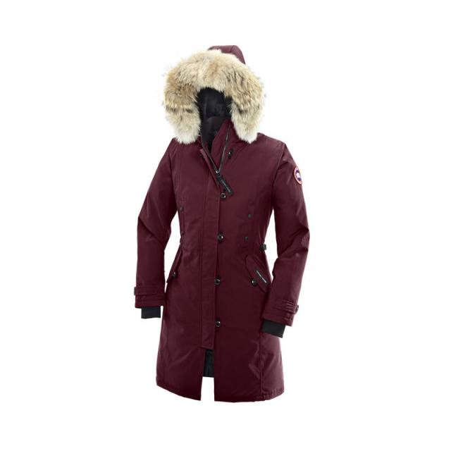 Canada Goose - Ladies Kensington Parka - New Bordeaux Medium