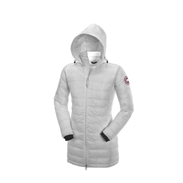 Canada Goose - Womens Camp Hooded Jacket - Closeout Silverbirch Medium