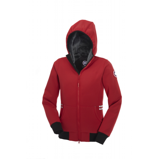 Canada Goose - - Tremblant Full Zip Hoody Womens - X-Small - Red