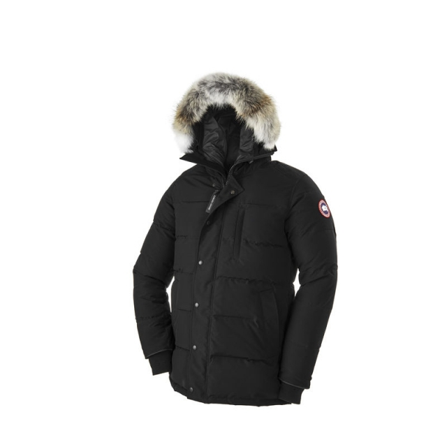 Canada Goose - Mens Carson Parka - Closeout Black Large