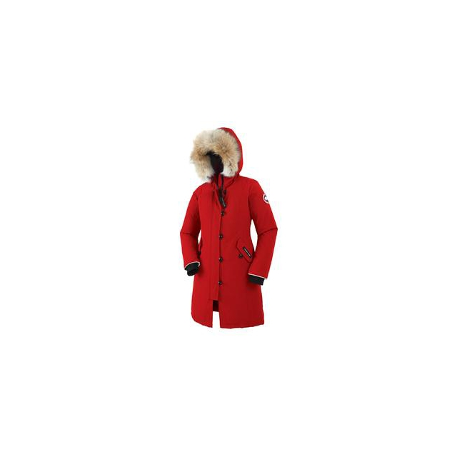 Canada Goose - Brittania Down Parka Girls', Red, M