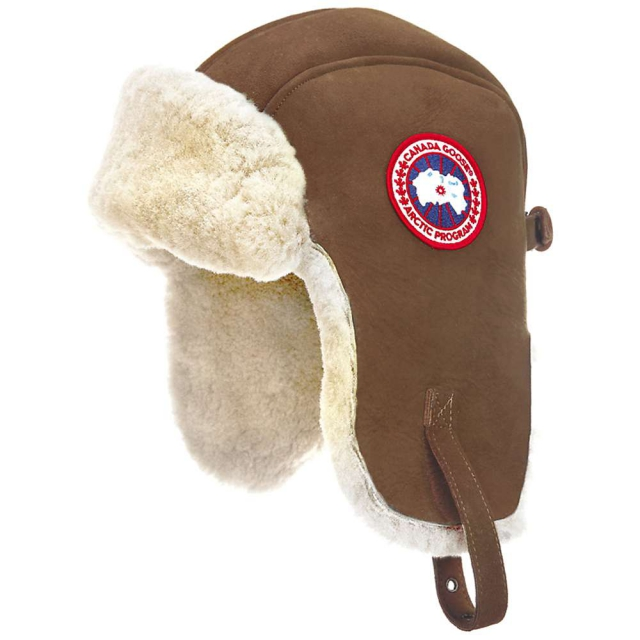 Canada Goose - Suede Shearling Pilot Hat