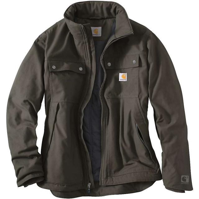 Carhartt - Men's Quick Duck Jefferson Traditional Jacket