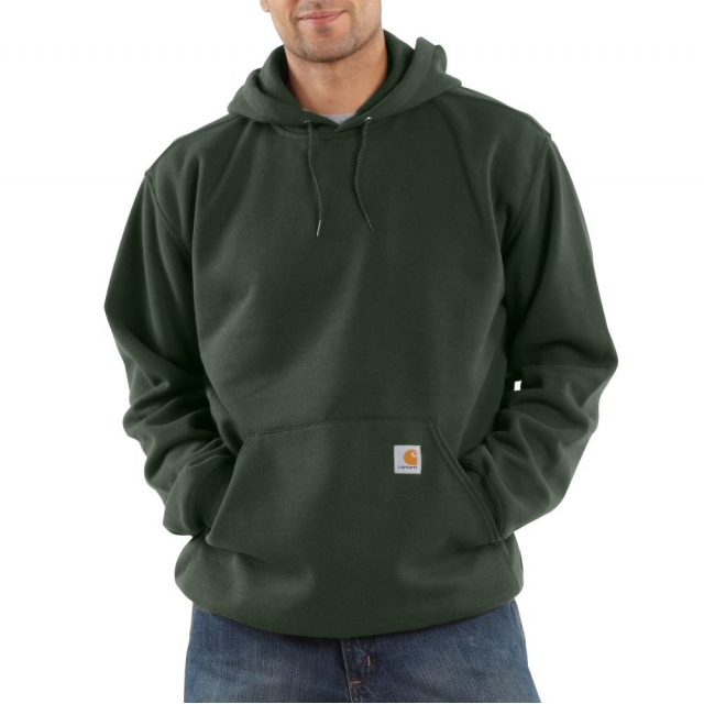 Carhartt - - Midweight Hooded Sweatshirt - 2L - Regular - Olive