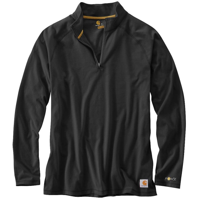 Carhartt - Men's Force Cotton Delmont Quarter Zip Shirt