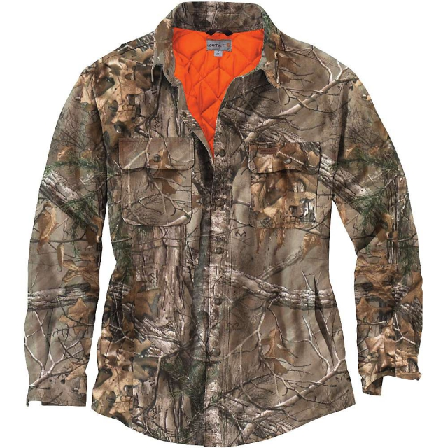 Carhartt - Men's Wexford Camo Shift Jacket