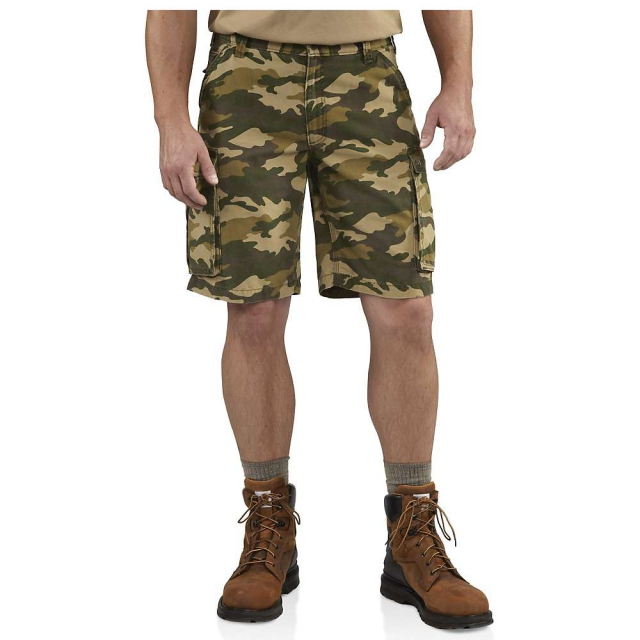 Carhartt - Men's Rugged Cargo Camo Short