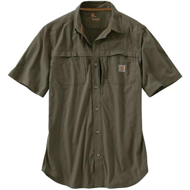Carhartt - Men's Force Mandan Solid SS Shirt