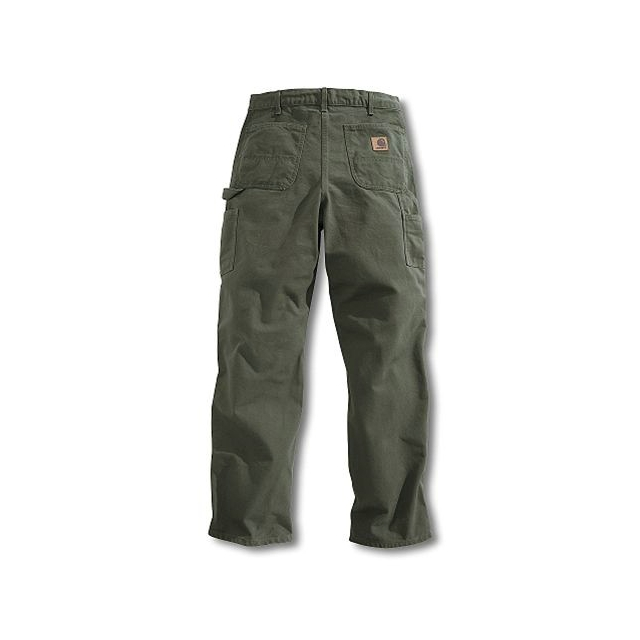 Carhartt - Men's Washed-Duck Work Dungaree Pant