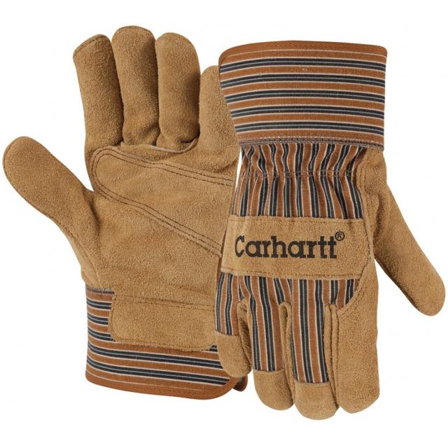 Carhartt - Men's A519 Suede Work Glove Brown