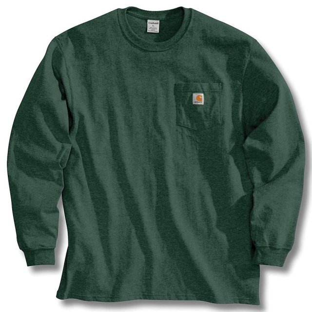 Carhartt - Men's K126 Long Sleeve Workwear T-Shirt