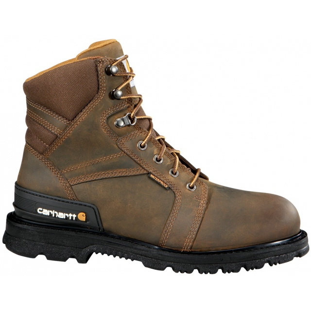 "Carhartt - Men's 6"" Safety Toe Work Boot Brown"