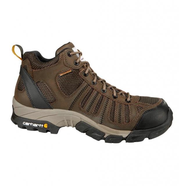 Carhartt - Men's Lightweight Brown Waterproof Work Hiker/Composite Toe Brown