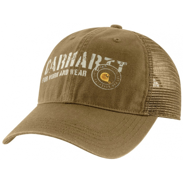 Carhartt - Men's Burgess Cap Dark Khaki
