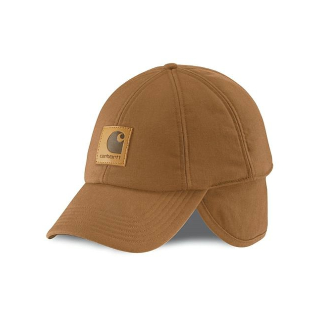 Carhartt - Men's A199 WorkFlex™ Ear Flap Cap Brown M/L