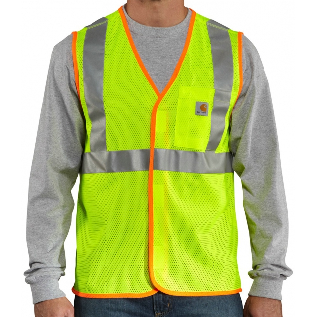 Carhartt - Men's High-Visibility Vest - Class 2 Bright