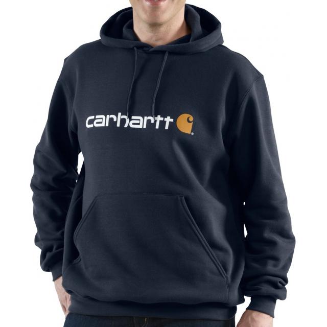Carhartt - Men's Signature Logo Midweight Sweatshirt New Navy