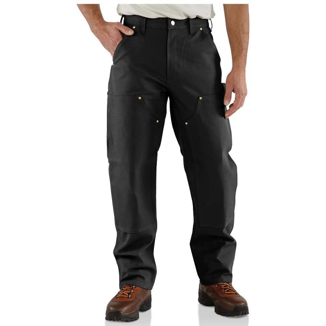 Carhartt - Men's Firm Duck Double-Front Work Dungaree Pant
