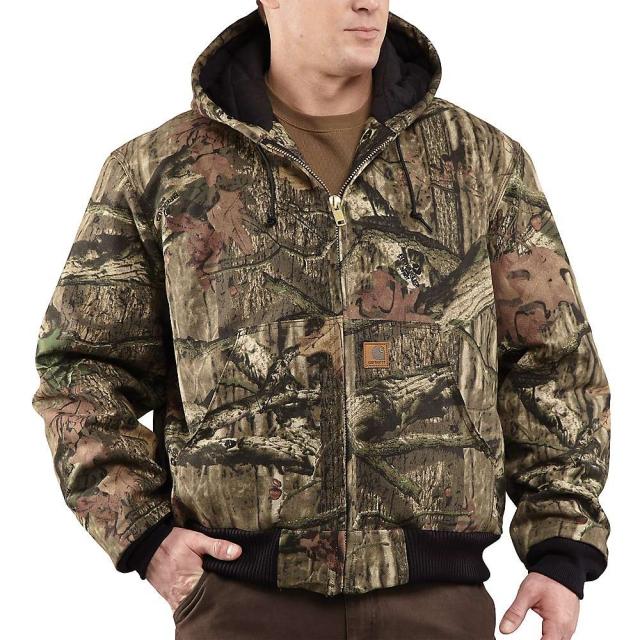 Carhartt - Men's Quilted Flannel Lined Workcamo Active Jacket