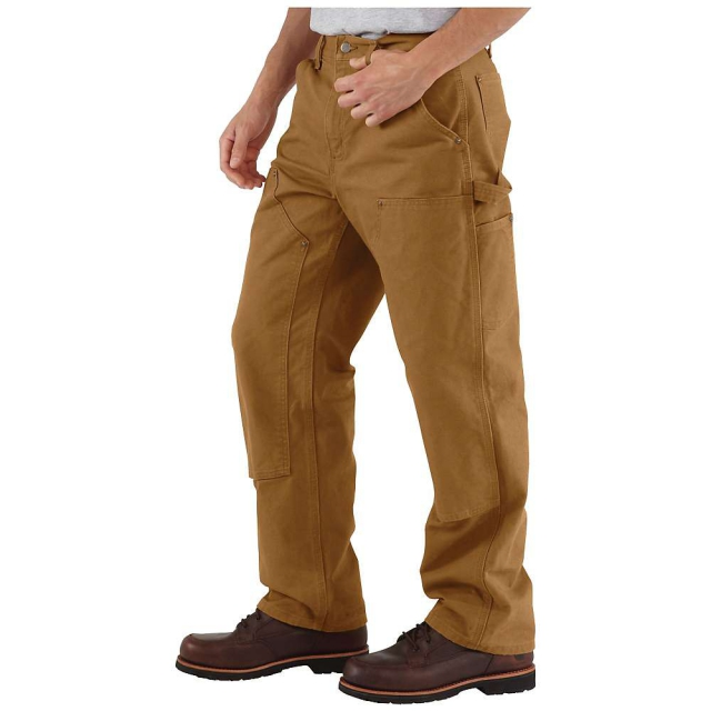 Carhartt - Men's Washed Duck Double Front Work Dungaree Pant