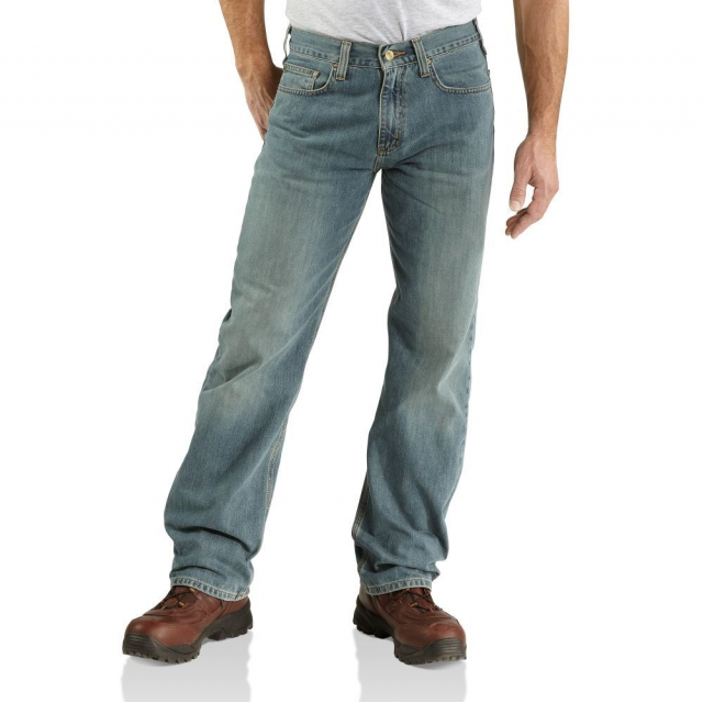 Carhartt - - Relaxed Straight Jean - 32 - 30 - Light Weathered Blue
