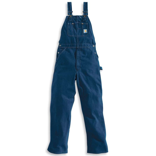 Carhartt - Men's Washed Denim Bib Overall
