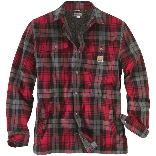 Carhartt - Men's Hubbard Sherpa Lined Shirt Jac
