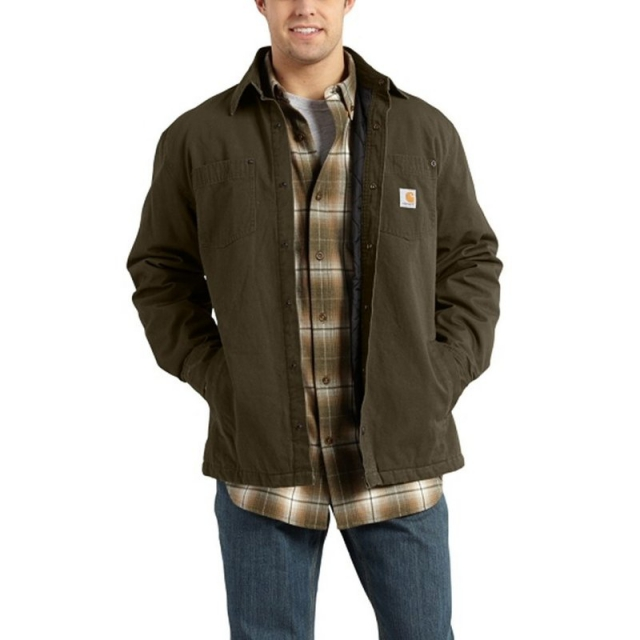 Carhartt - Men's Chatfield Ripstop Button Up Shirt Jac