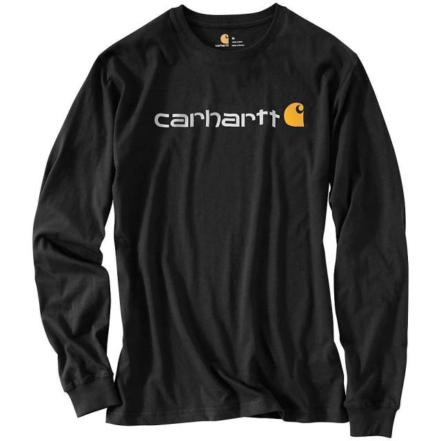 Carhartt - Men's Signature Logo Long Sleeve T-Shirt