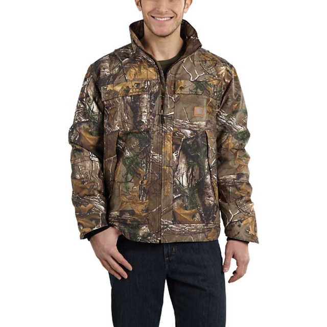 Carhartt - Men's Quick Duck Camo Traditional Jacket